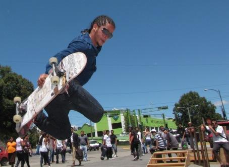 EL FESTIVAL Sk8 se realizará en el parqueo de la Municipalidad de Guatemala el domingo 6 de octubre de 2013.  Fotografía: Robin Martínez/CGN