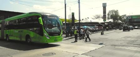 EL CAMBIO ES ESTRATÉGICO y beneficiará reduciendo en 8 minutos el tiempo de recorrido, principalmente, en sentido Amate-Bolivar.  Fotografía: Robin Martínez/CGN